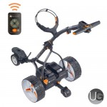 Motocaddy S7 Remote Lithium Standard Range Electric Trolley (Black)