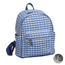 OUUL Check Wave Ladies Mini Backpack