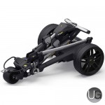PowaKaddy FW5s 18 Hole Lithium Electric Trolley (Gunmetal Silver)