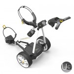 PowaKaddy FW3s 18 Hole Lithium Electric Trolley (White)