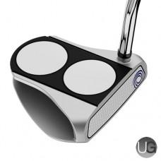 Odyssey White Hot RX 2 -Ball V-LineSuper Stroke 2.0 Golf Putter