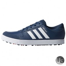 Adidas adicross Gripmore 2 Golf Shoes - Mineral Blue/White/Red