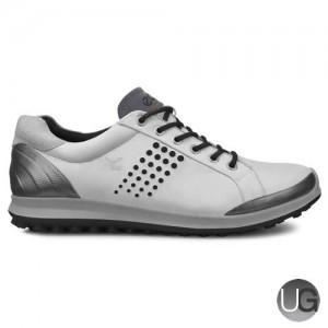 Ecco Biom Hybrid 2 Golf Shoes (White/Black)