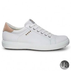 Ecco Casual Hybrid Spikeless Ladies Shoes (White)