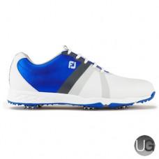 FootJoy Energize Golf Shoes White Electric Blue - 58107