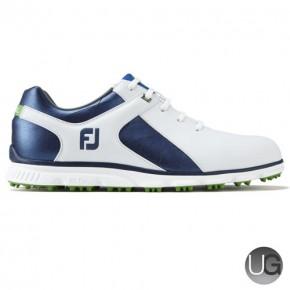 FootJoy PRO SL Golf Shoes -  White Blue 53584