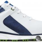 FootJoy PRO SL Golf Shoes 53584 -  Toe View - White Blue