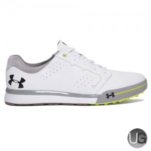 Men's Under Armour Tempo Hybrid Golf Shoes - White