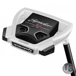 TaylorMade Spider X Chalk and White Putter