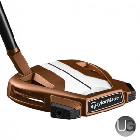 TaylorMade Spider X Copper and White 3 Putter