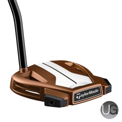 TaylorMade Spider X Copper/White 3 Single Bend Putter