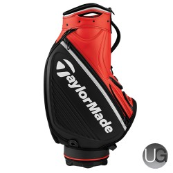 TaylorMade Tour Staff Bag (Black/Blood Orange)