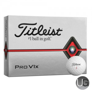 Titleist Pro V1x 12 Ball Pack 2019 (FREE PERSONALISATION)