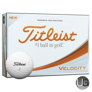 Titleist Velocity 12 Ball Pack (FREE PERSONALISATION)