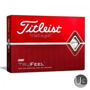 Titleist TruFeel 12 Ball Pack (FREE PERSONALISATION)