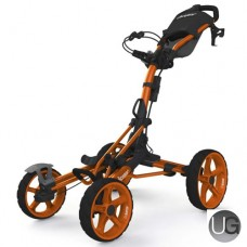 Clicgear 8.0 4 Wheel Golf Trolley Orange