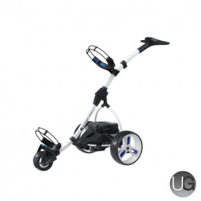 Motocaddy S3 Pro 18 Hole Lithium Electric Trolley (White)