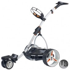 Motocaddy S7 Remote Lithium 18 Hole Electric Trolley (White)