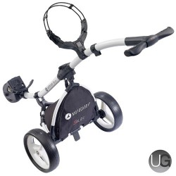 Motocaddy S1 Lite Golf Trolley (White)