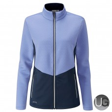 PING Florrie Ladies Full Zip Jacket - Blue