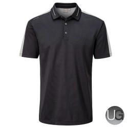 Ping Douglas Golf Polo Shirt (Black)