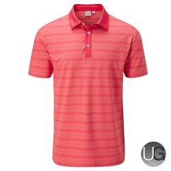 PING Eugene Polo Shirt (Red Iron Multi)