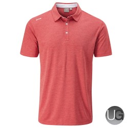 PING Harrison Heather Polo (Deep Sea Coral)