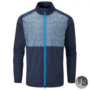 PING Norse S2 Zoned Jacket - Oxford Blue/Greystone