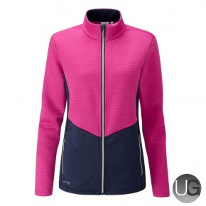 PING Florrie Ladies Full Zip Jacket - Pink
