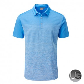 PING Gradient Polo Shirt (Sky Azure)