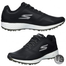 Skechers GO GOLF Ladies Eagle Pro Golf Shoes (Black and White)