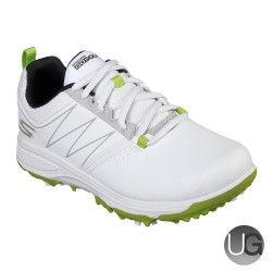 Skechers GO GOLF Blaster Junior Golf Shoes (White and Lime)