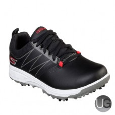 Skechers GO GOLF Blaster Junior Golf Shoes (Black and Red)
