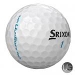 Srixon UltiSoft Golf Balls (White) (FREE PERSONALISATION)